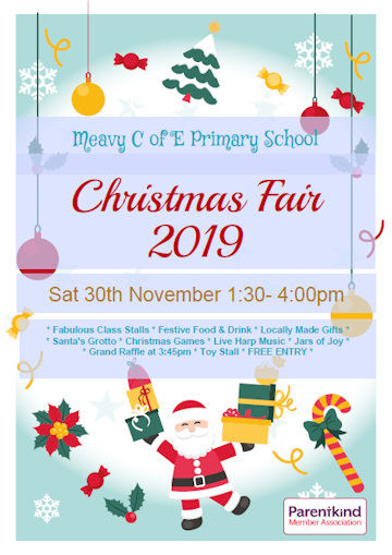 Meavy School Christmas Fair 2019