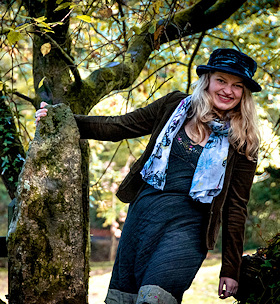 Eliza Acty performs at Meavy Parish Hall